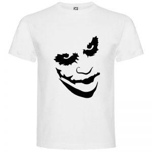 Camiseta manga corta Why so serious?para hombre Joker en Color Blanco