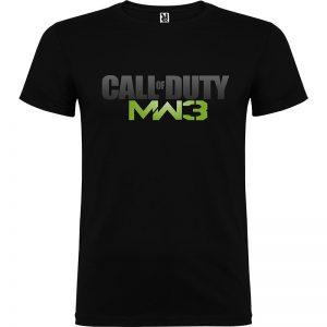 Camiseta para chico Call of Duty - Modern Warfare 3 en color negro